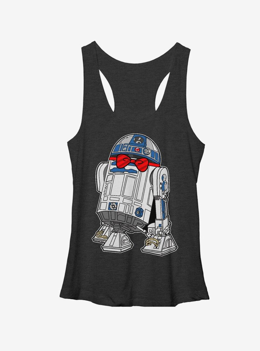 Star Wars R2D2 Bowtie Womens Tank