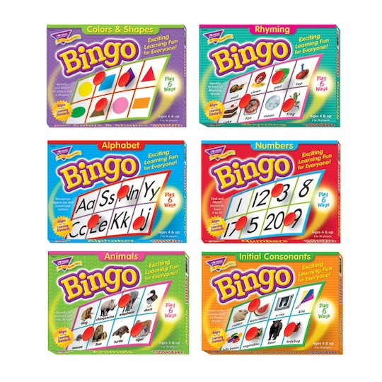 Early Learning Bingo ct By Trend   Michaels®