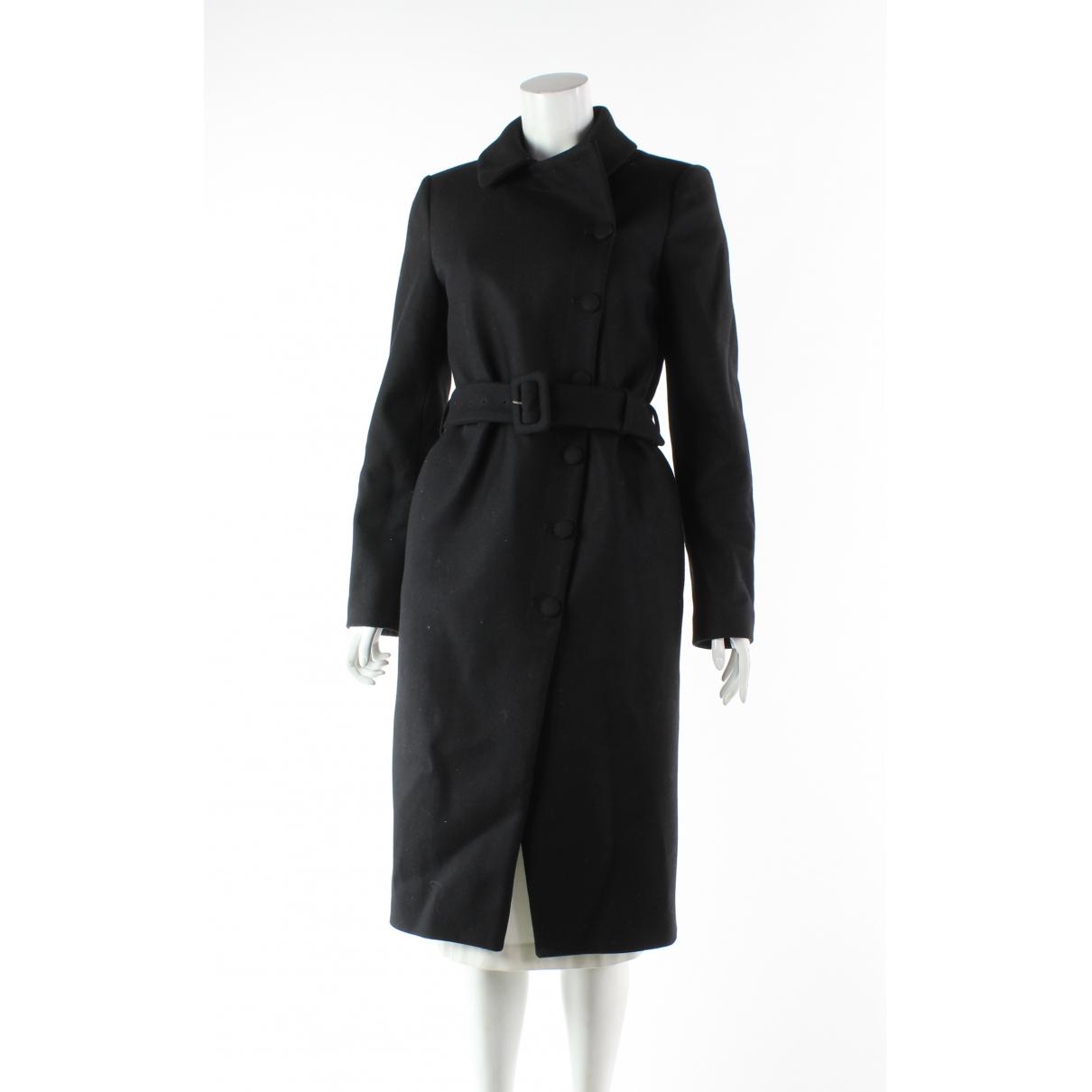 Moschino \N Black Wool coat for Women 8 UK