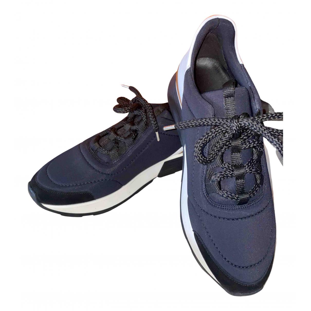 Hermès N Blue Cloth Trainers for Women 38 EU
