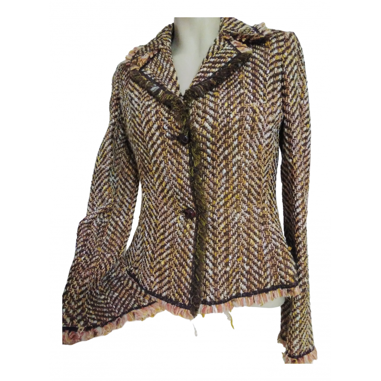 M Missoni \N Jacke in  Kamel Tweed