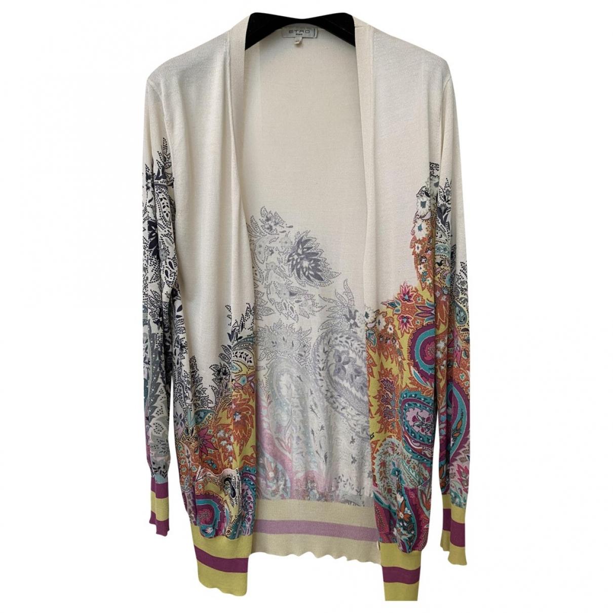 Etro - Pull   pour femme en coton - multicolore