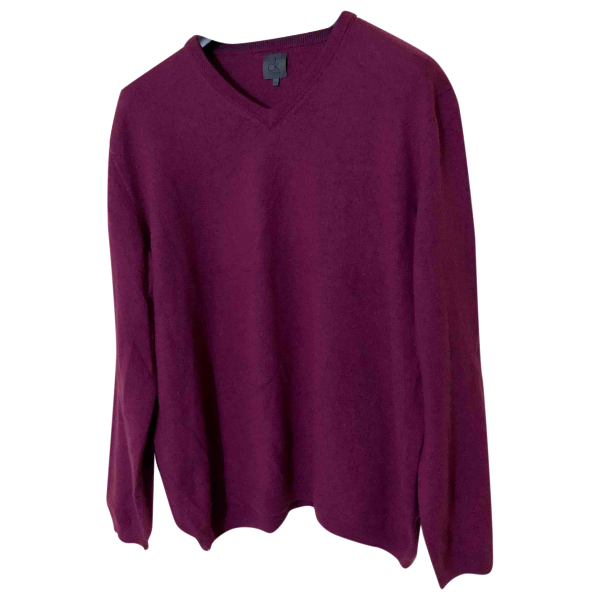 Calvin Klein \N Pullover.Westen.Sweatshirts  in  Lila Wolle