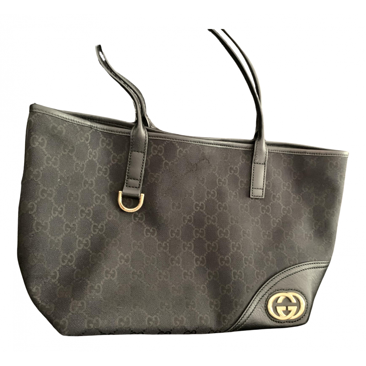 Gucci N Black Cloth handbag for Women N
