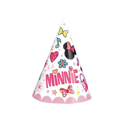 Minnie Mouse 8 Party Hats Pour la fête d'anniversaire
