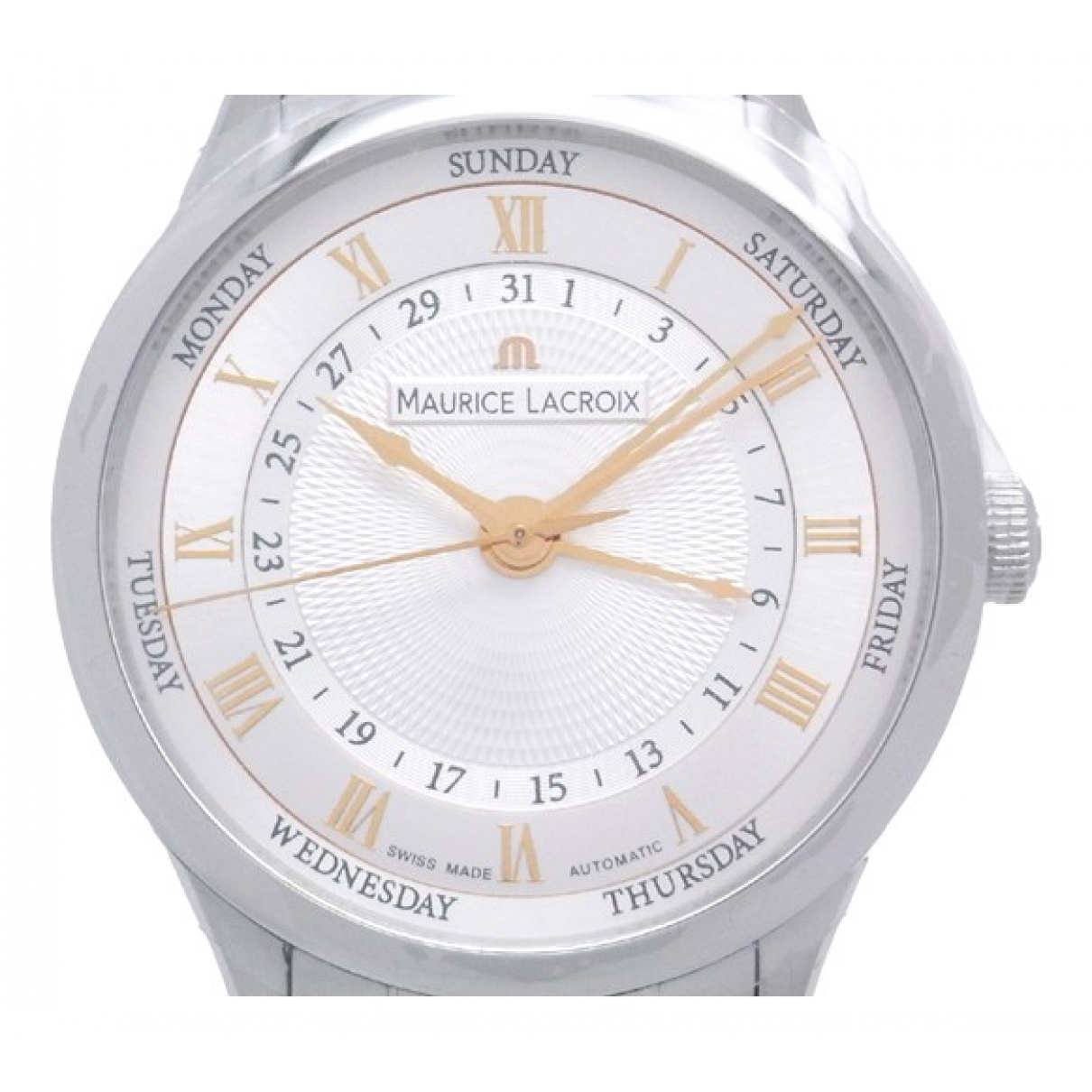 Maurice Lacroix N Silver Steel watch for Men N