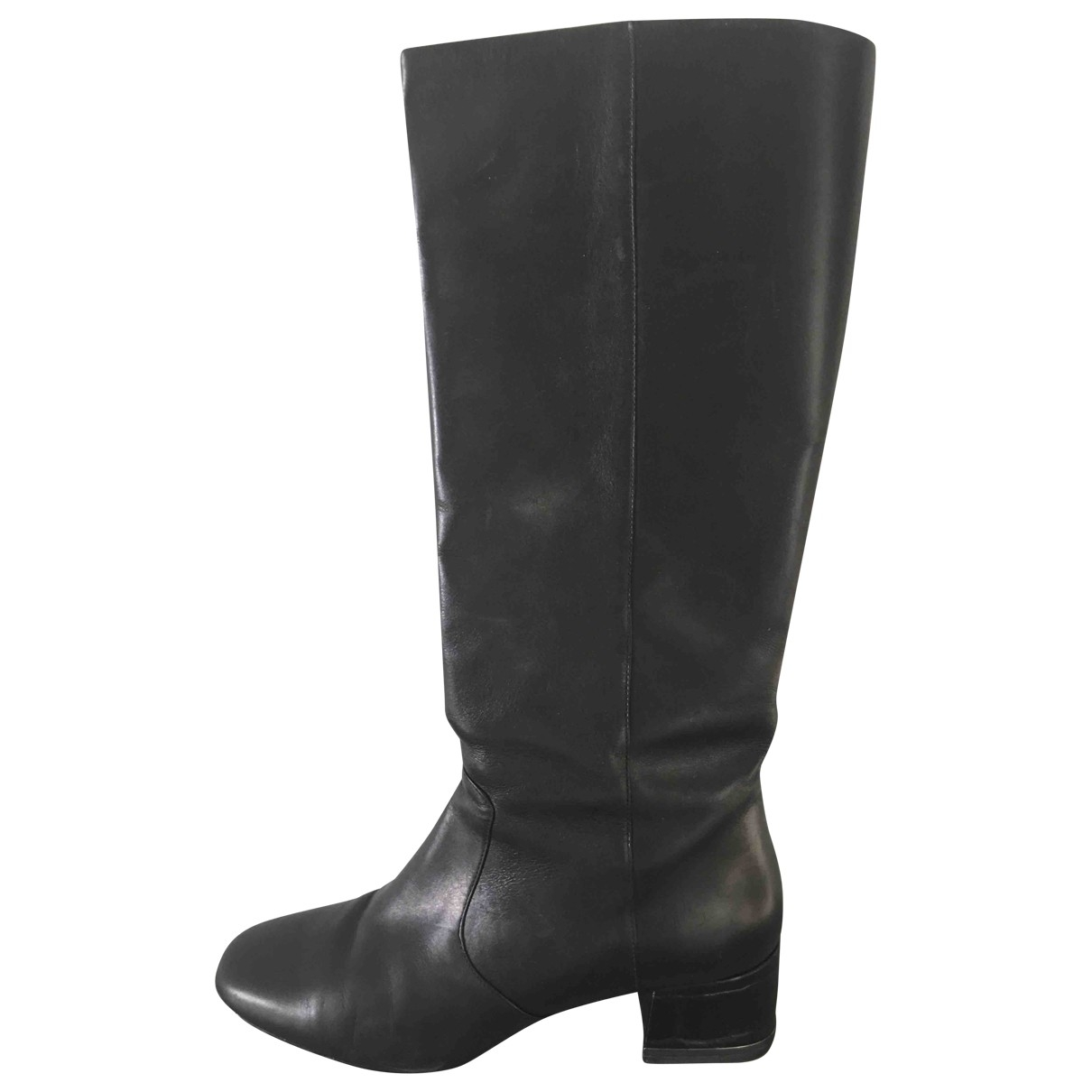 Michael Kors \N Black Leather Boots for Women 38 EU