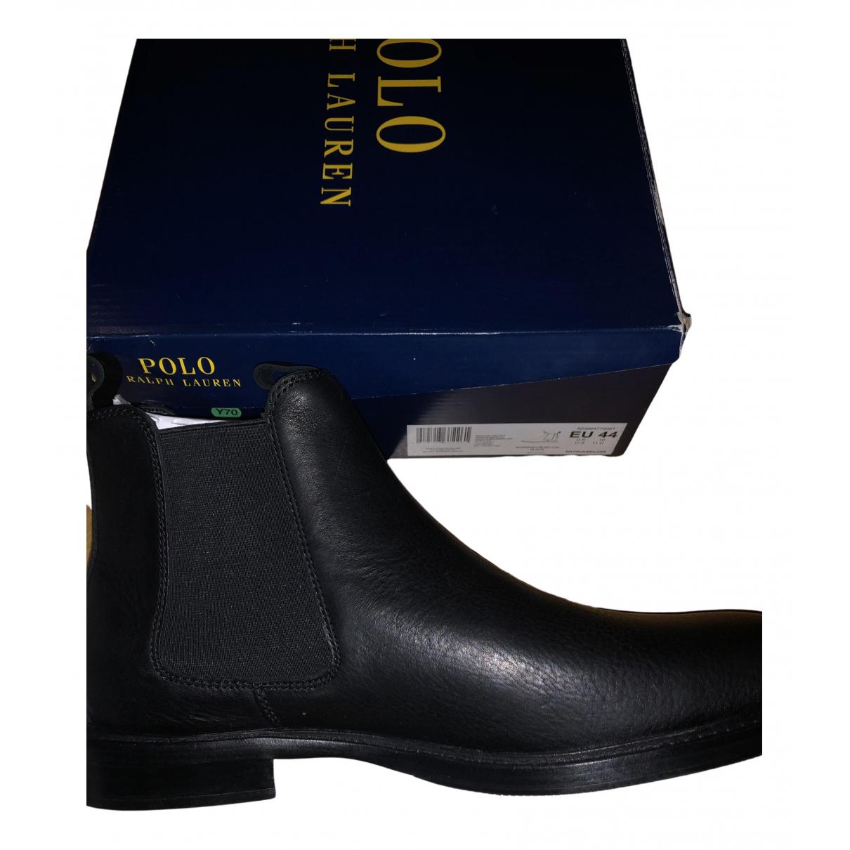 Botas de Cuero Polo Ralph Lauren