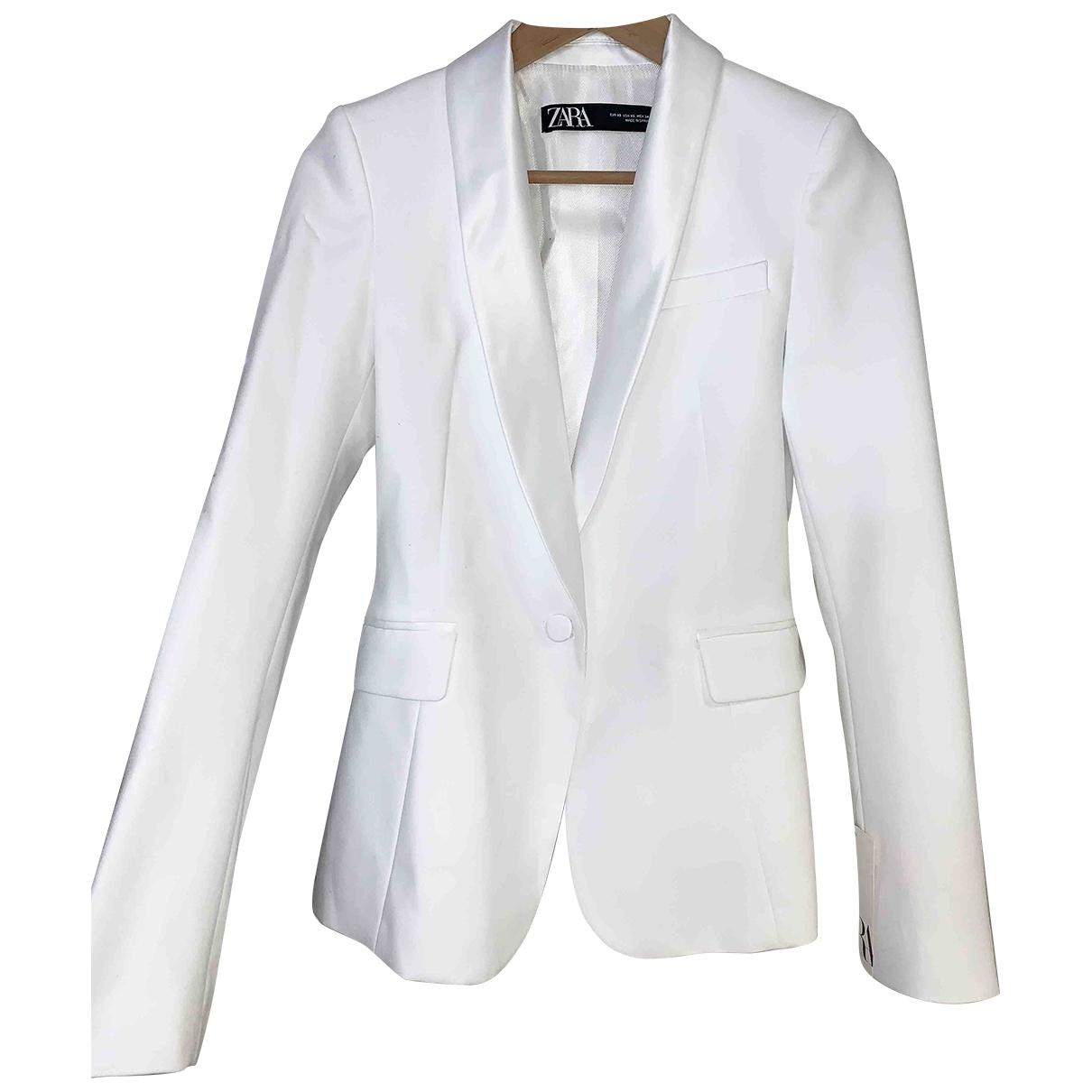 Zara \N White jacket for Women XS International