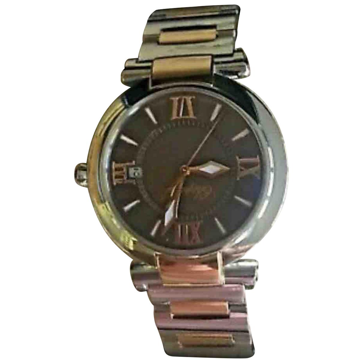 Chopard \N Uhr in  Braun Stahl