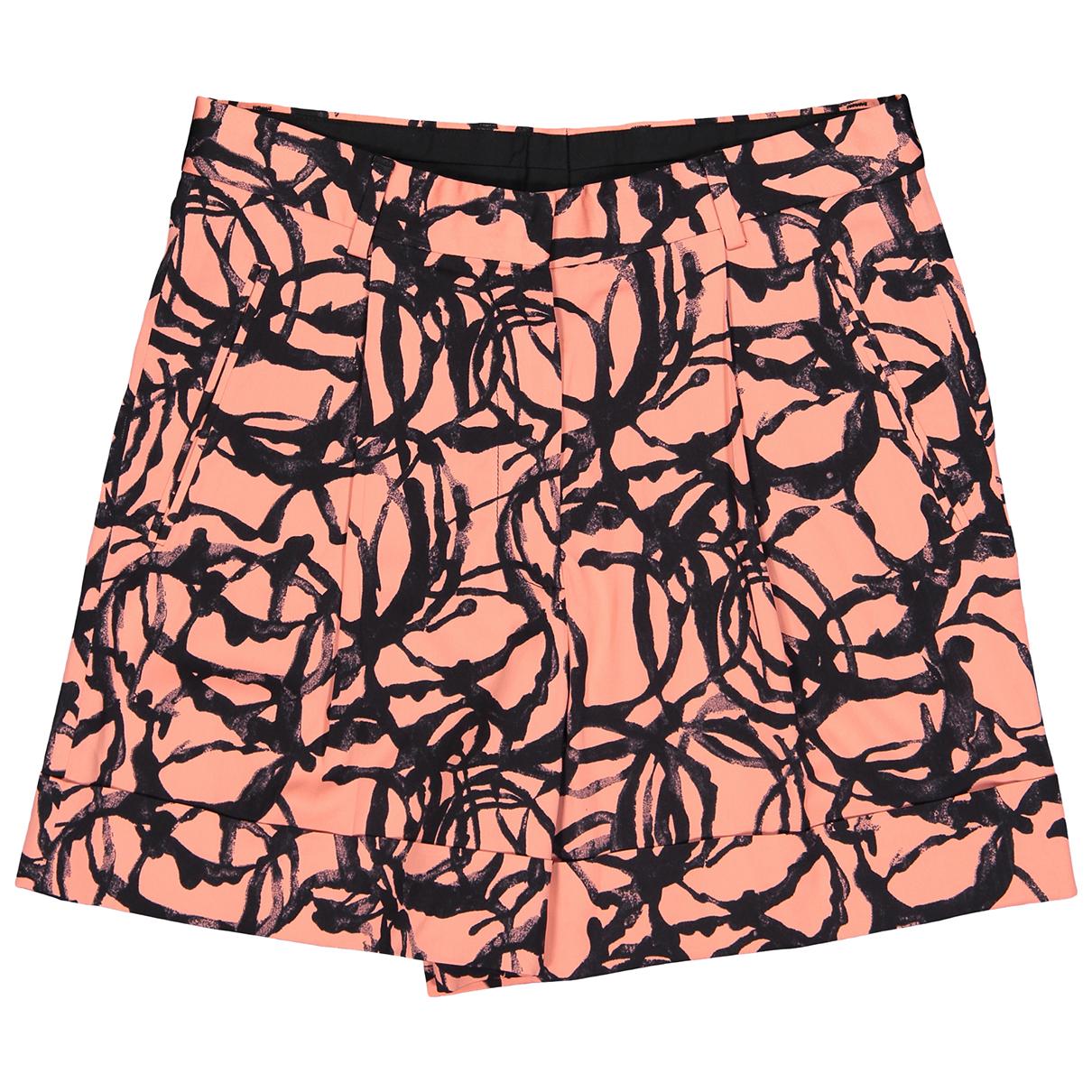 Dries Van Noten \N Shorts in  Rosa Viskose
