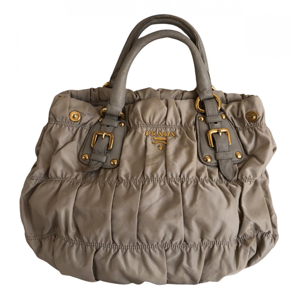 Prada \N Beige handbag for Women \N