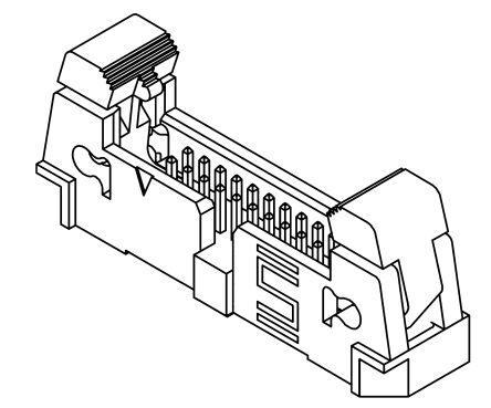 Samtec , EHF, 40 Way, 2 Row, Straight PCB Header