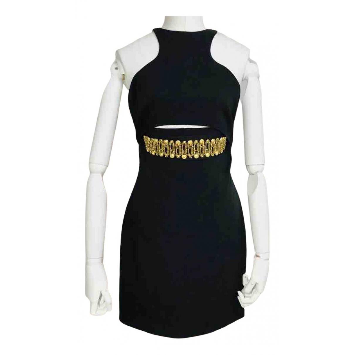 Versus - Robe   pour femme en coton - noir