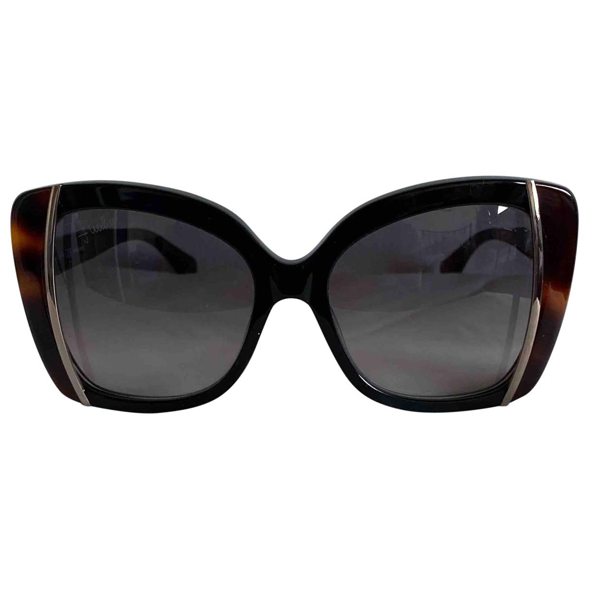 Emilio Pucci \N Sonnenbrillen in  Braun Kunststoff