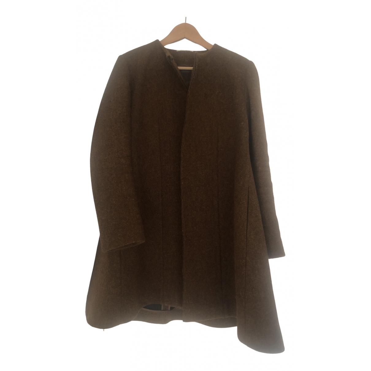 Celine N Brown Wool coat for Women 38 FR