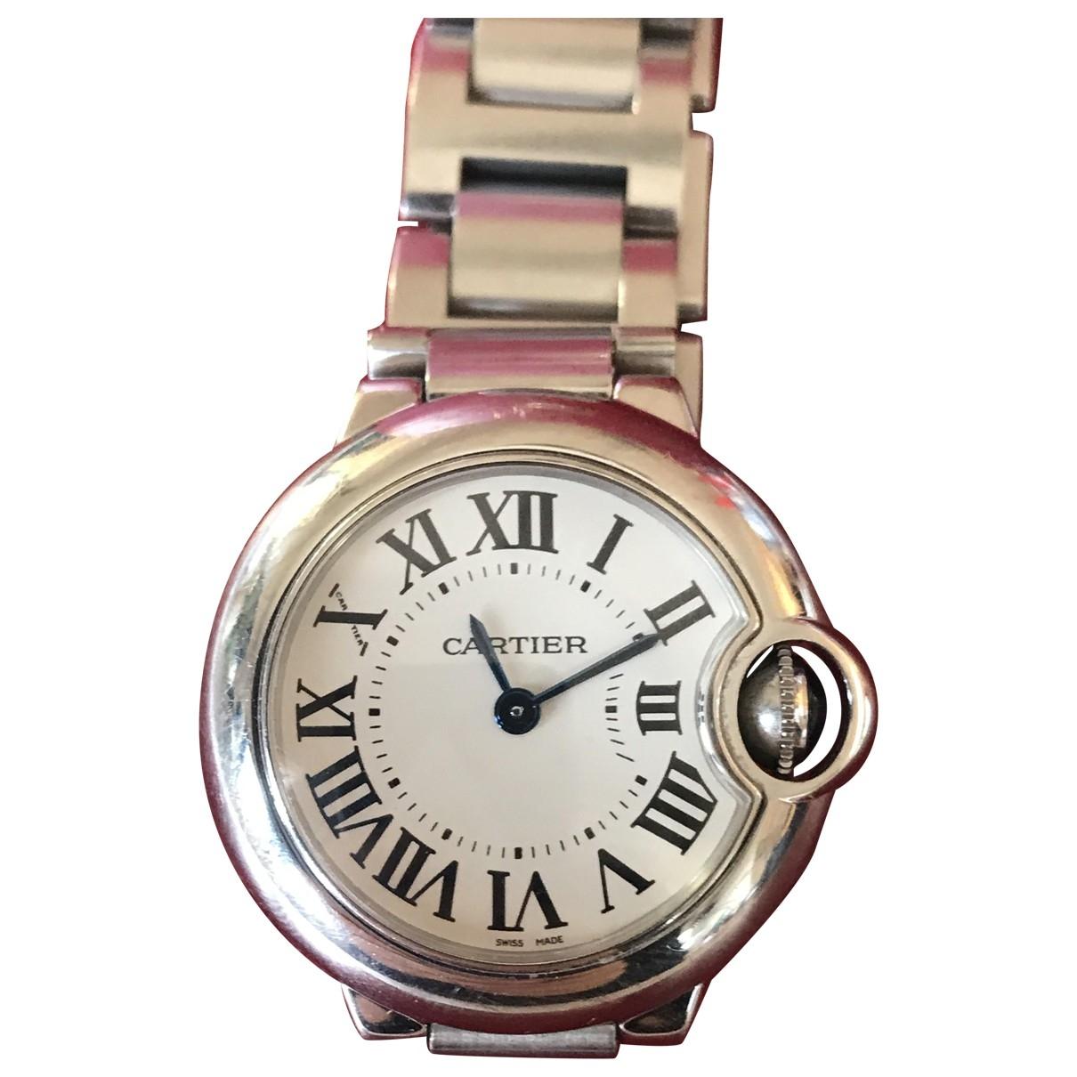 Cartier Ballon bleu Silver Steel watch for Women \N