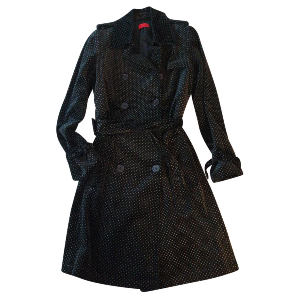 Pringle Of Scotland N Black Velvet coat for Women 42 IT