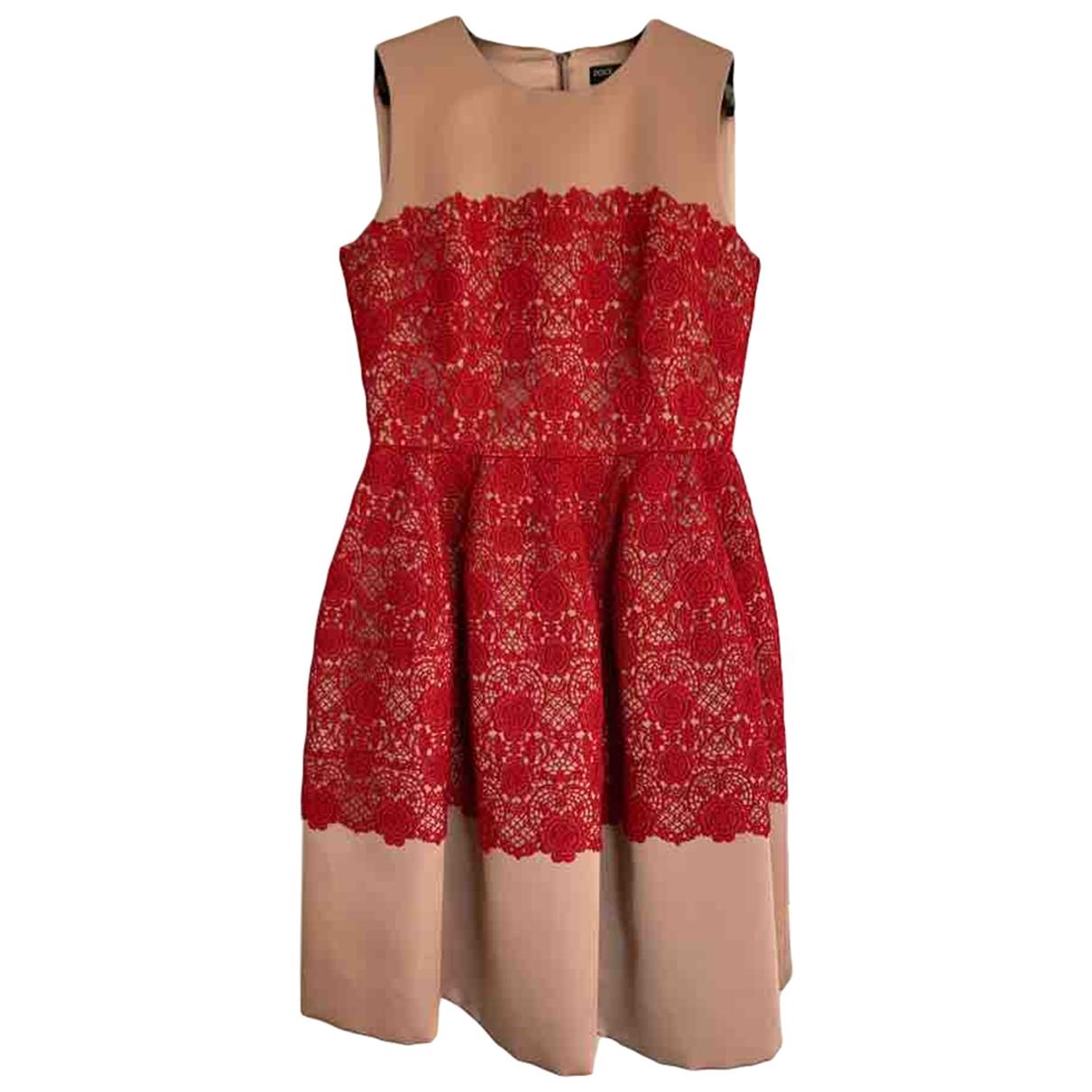 Dolce & Gabbana \N Kleid in  Beige Seide