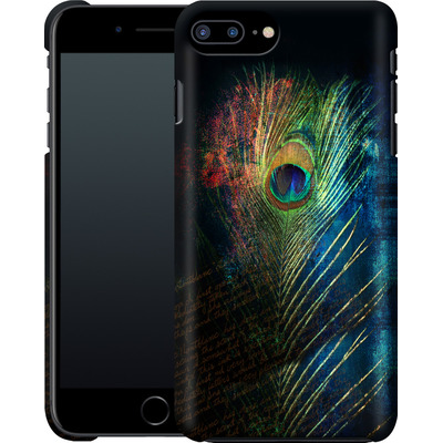Apple iPhone 8 Plus Smartphone Huelle - Peacock Feather von Mark Ashkenazi