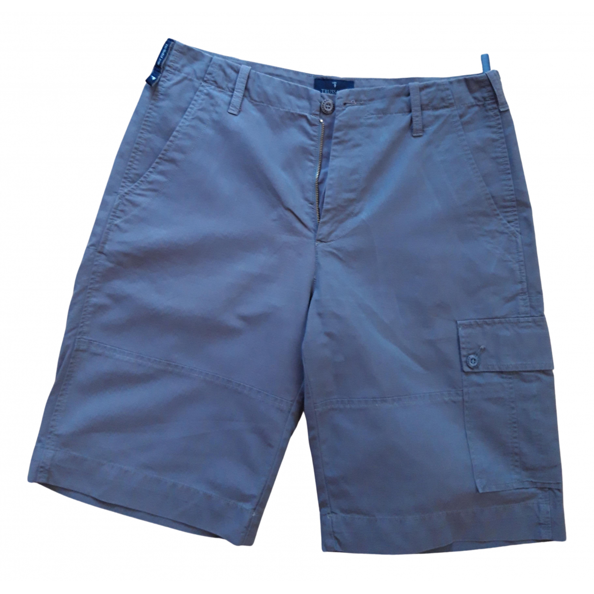Trussardi Jeans \N Shorts in  Grau Baumwolle