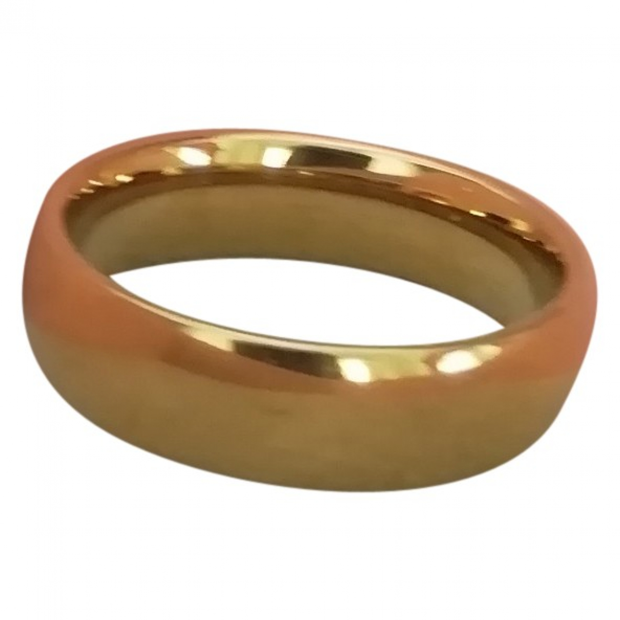 Non Signé / Unsigned Alliance Gold Metal ring for Women 59 EU