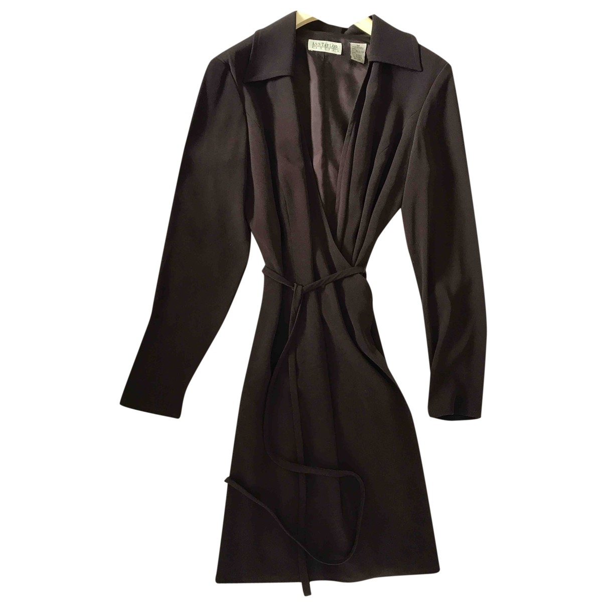 Ann Taylor \N Kleid in  Braun Polyester
