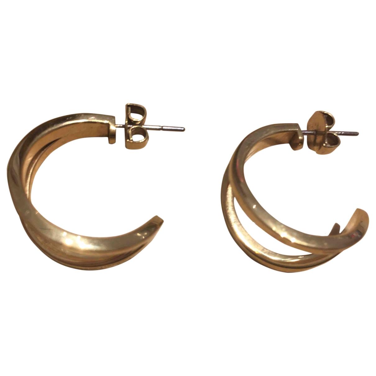 Calvin Klein - Boucles doreilles   pour femme en acier - dore