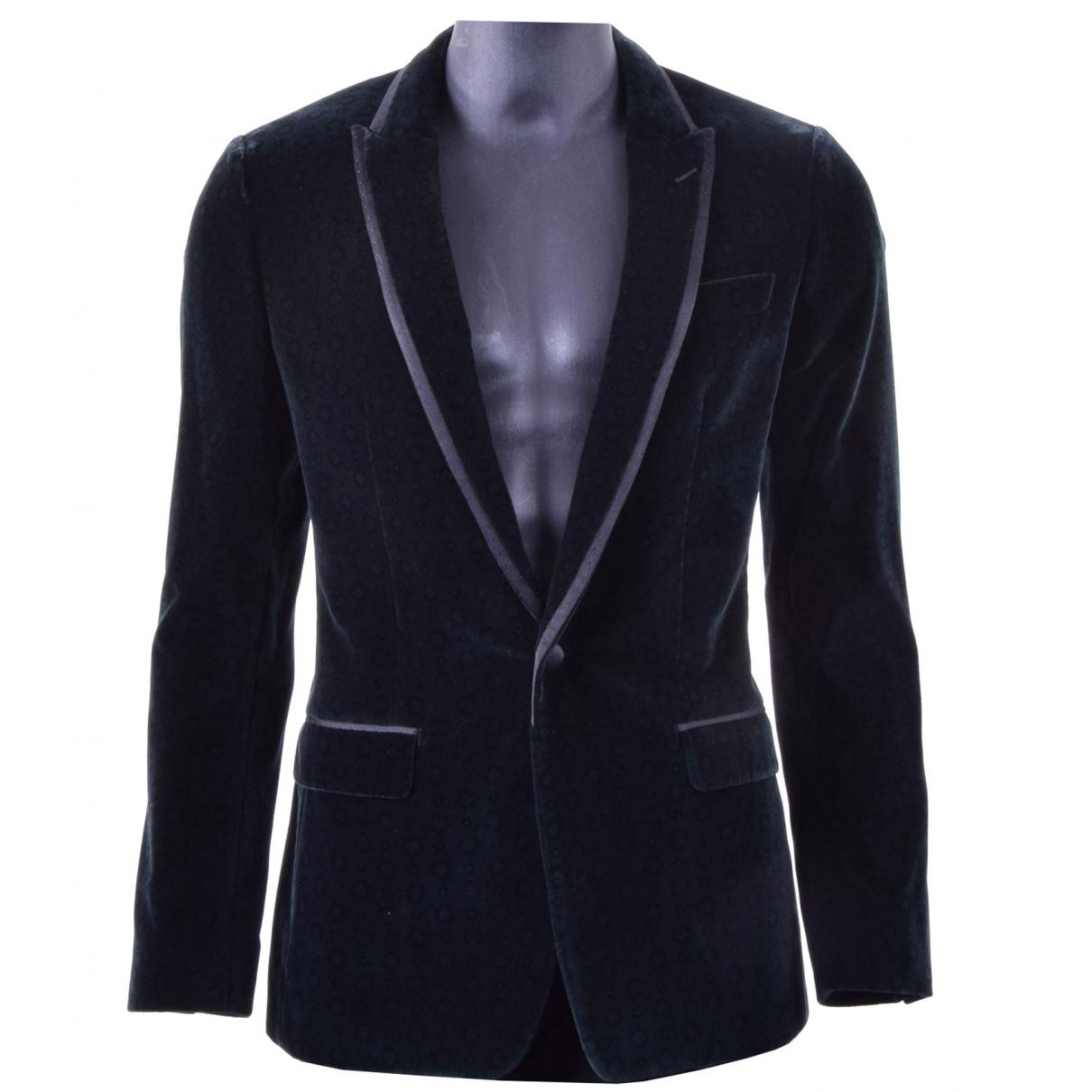 Dolce & Gabbana \N Jacke in  Gruen Samt