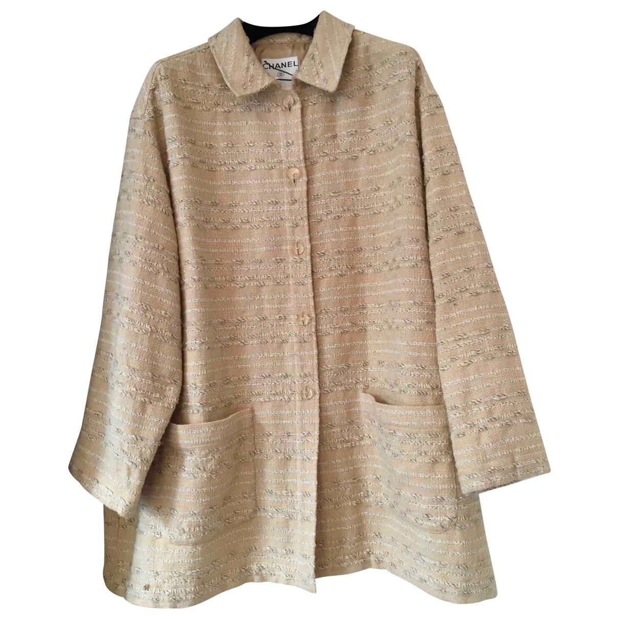 Chanel - Manteau   pour femme en laine