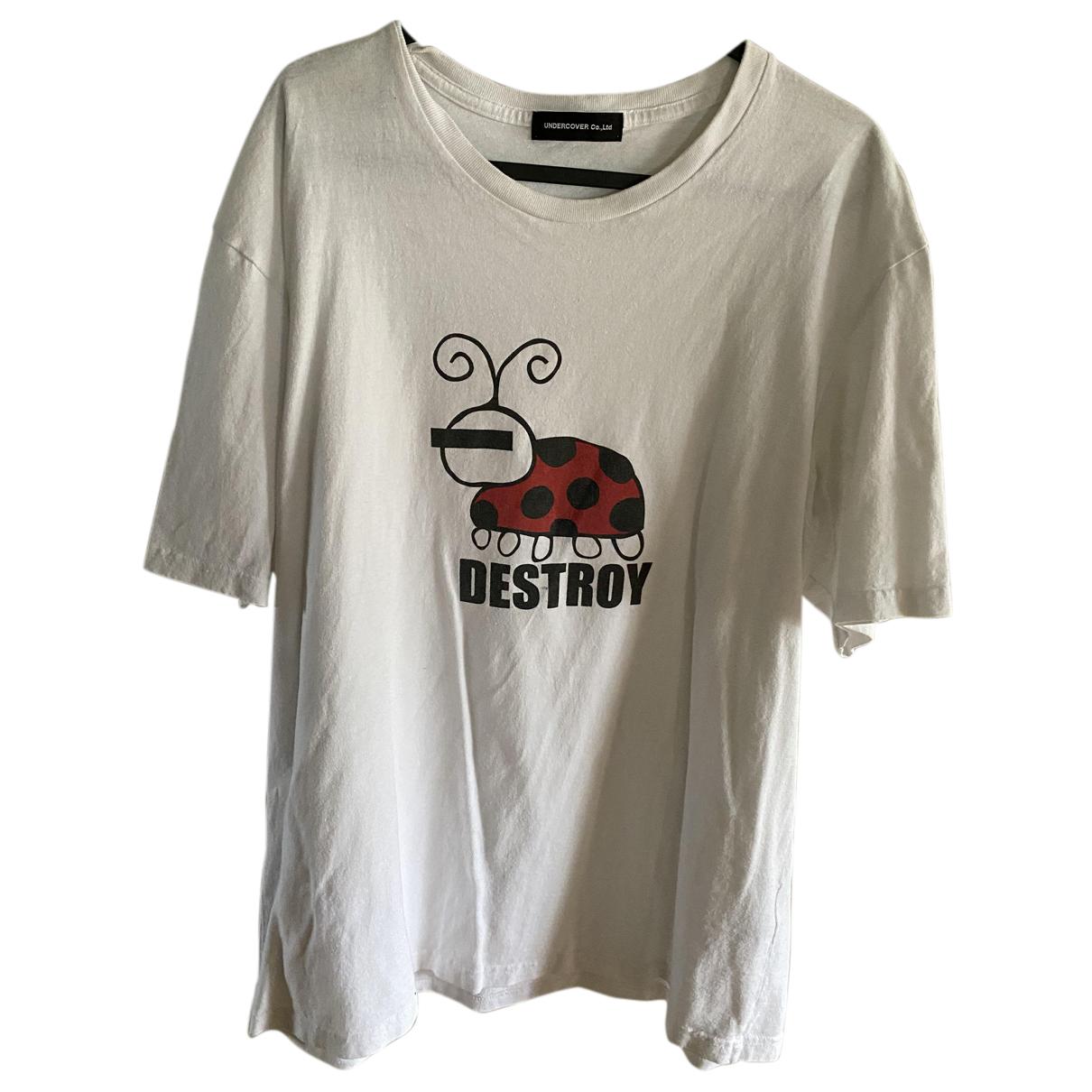 Undercover - Tee shirts   pour homme en coton - blanc