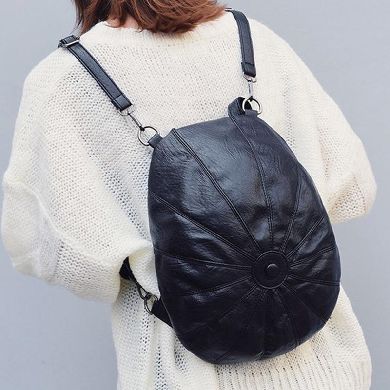 Ericdress PU Thread Casual Female Backpacks