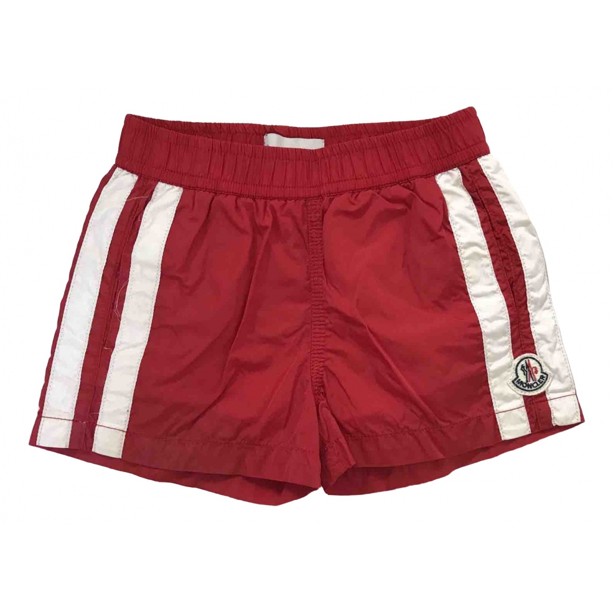 Moncler \N Shorts in  Rot Polyester