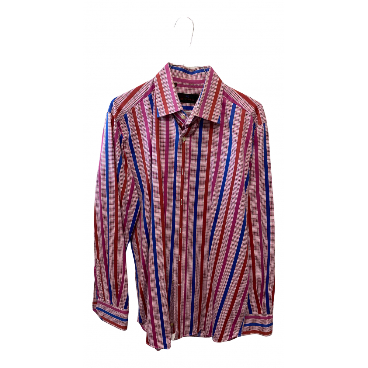 Etro \N Multicolour Cotton Shirts for Men 40 EU (tour de cou / collar)