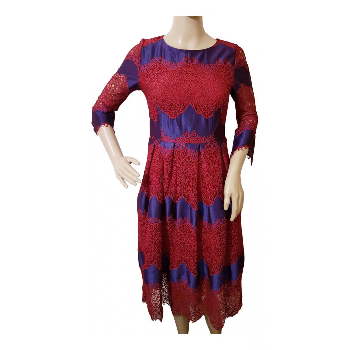 Teria Yabar \N Kleid in  Bunt Spitze
