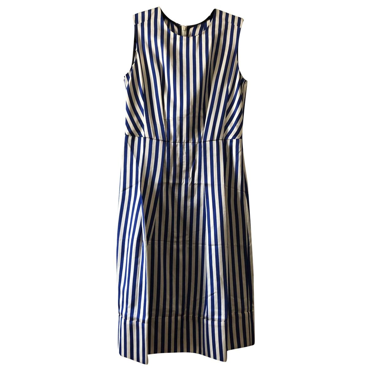 Marni \N Kleid in  Blau Viskose