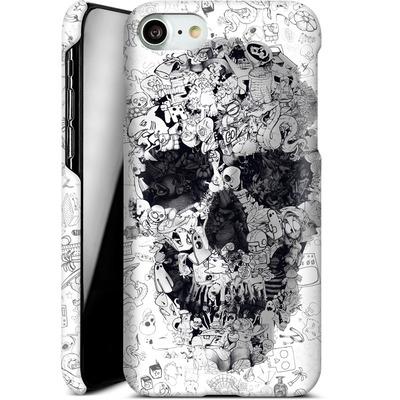 Apple iPhone 8 Smartphone Huelle - Doodle Skull von Ali Gulec