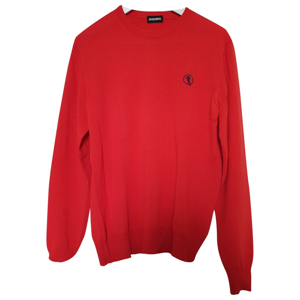 Dirk Bikkembergs \N Pullover.Westen.Sweatshirts  in  Rot Wolle