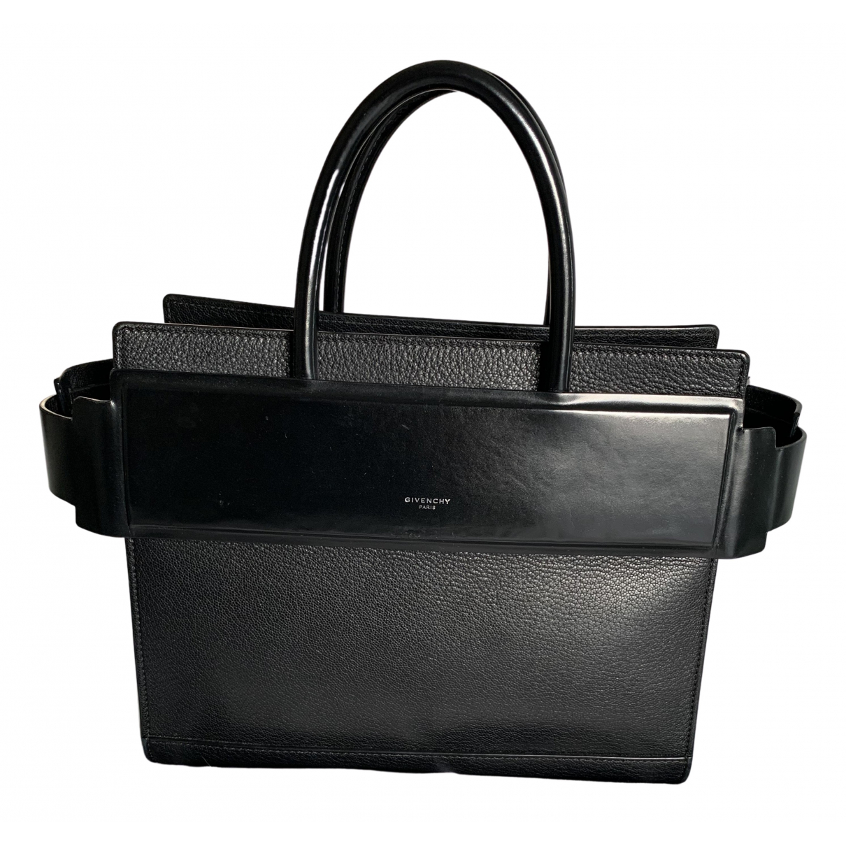 Givenchy Horizon Black Leather handbag for Women \N