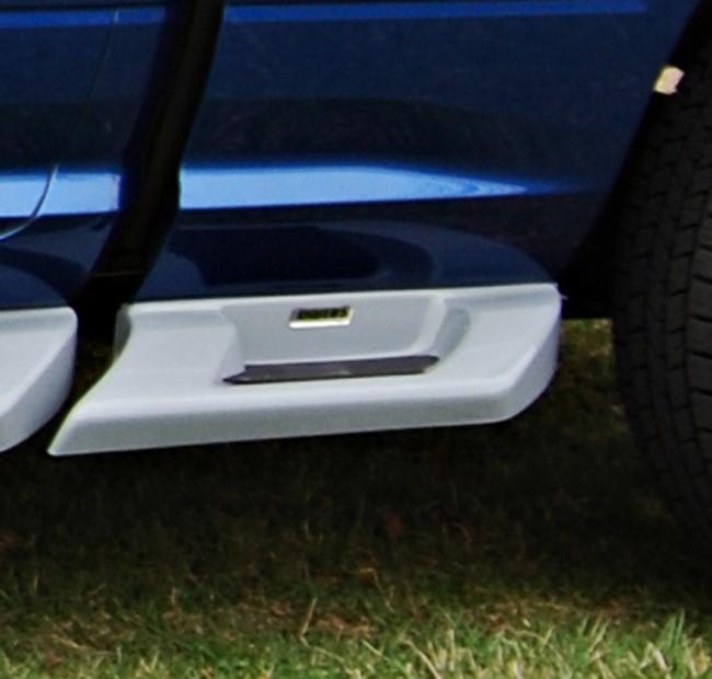 Owens Products 3172-01 Running Boards Glastep Plus Custom Fiberglass 09-18 Ram 6.4 Ft W/O Flares Fiberglass Gray