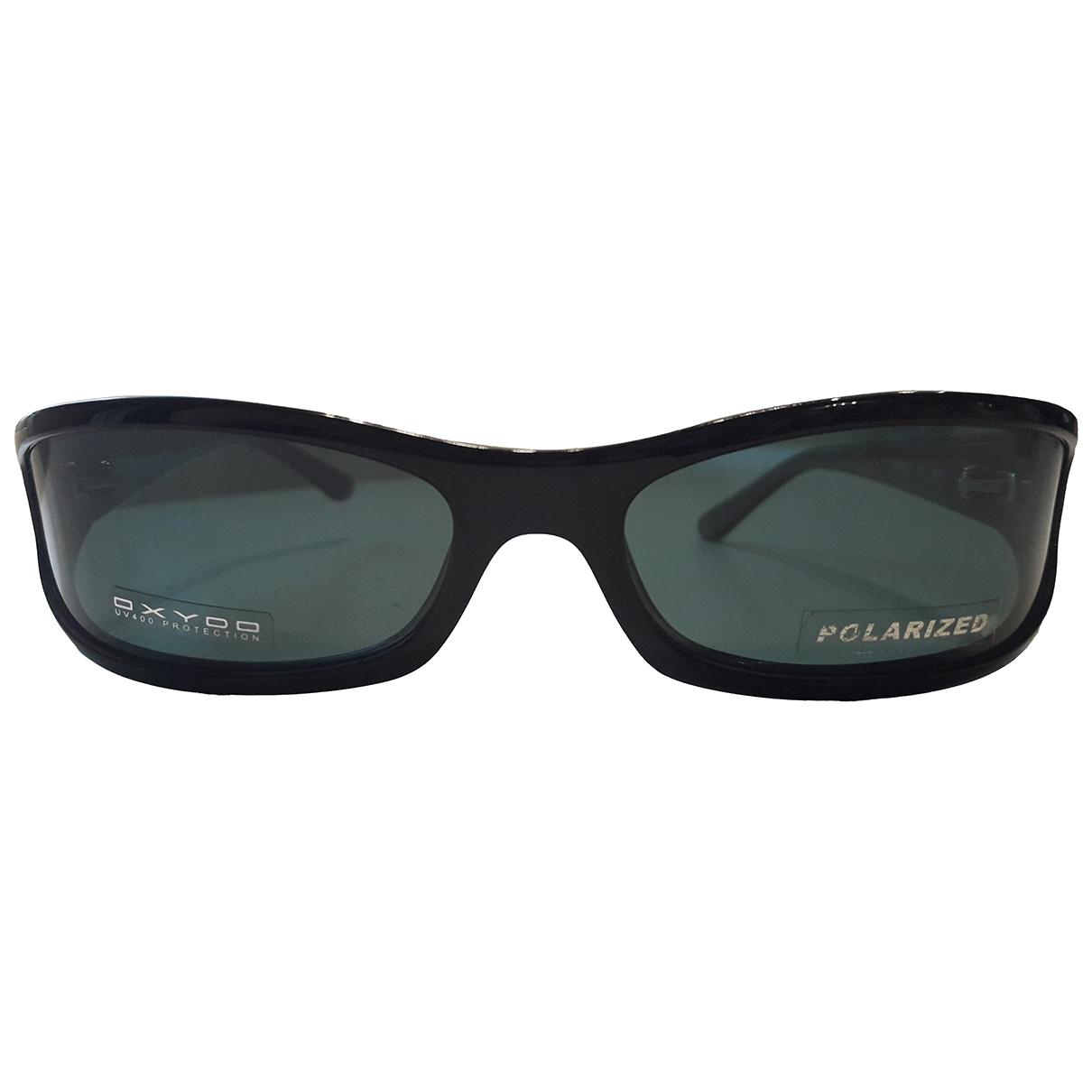 Non Signé / Unsigned \N Black Sunglasses for Men \N
