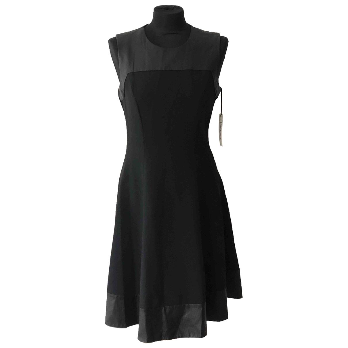 Lagence \N Kleid in  Marine Polyester