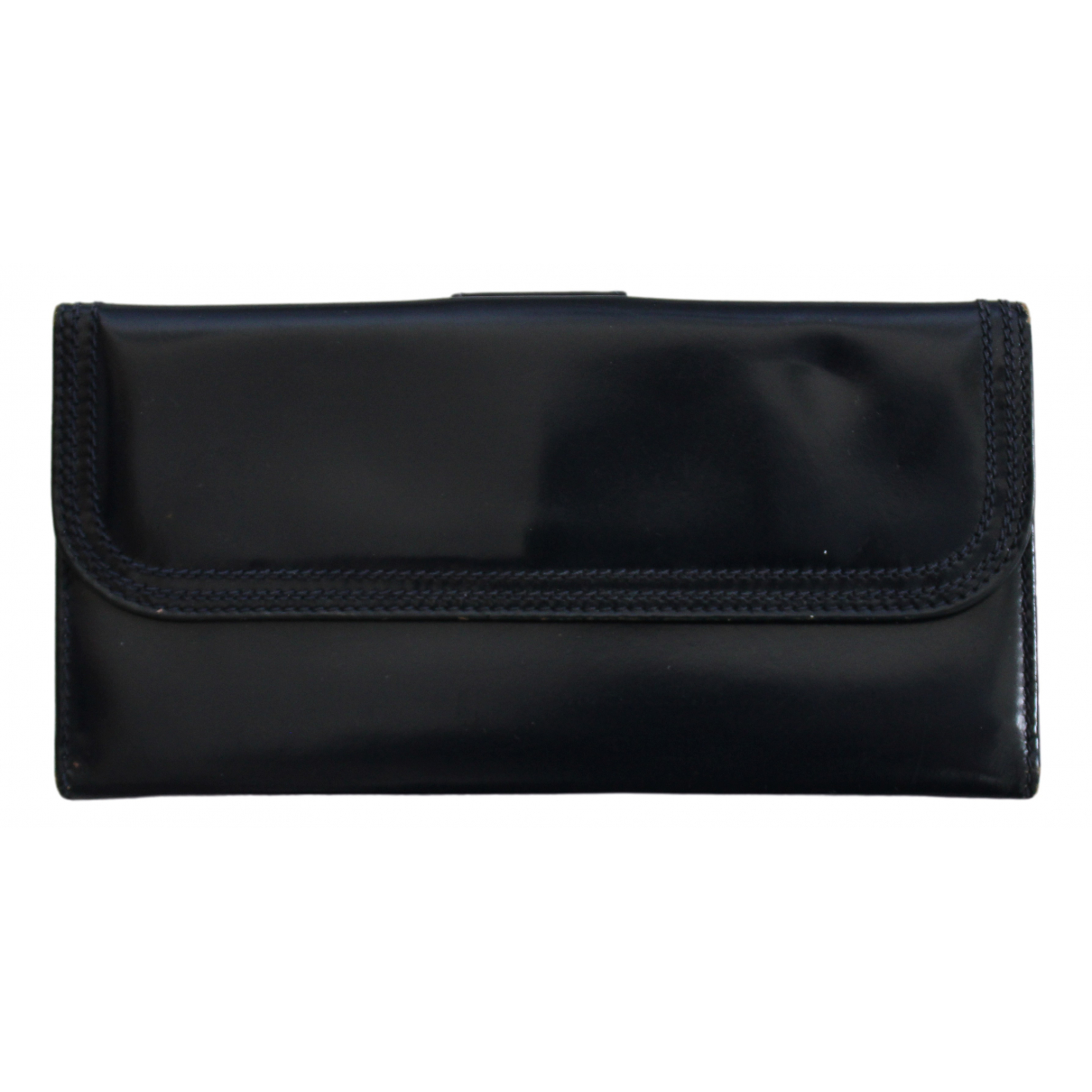 Gucci \N Navy Leather wallet for Women \N