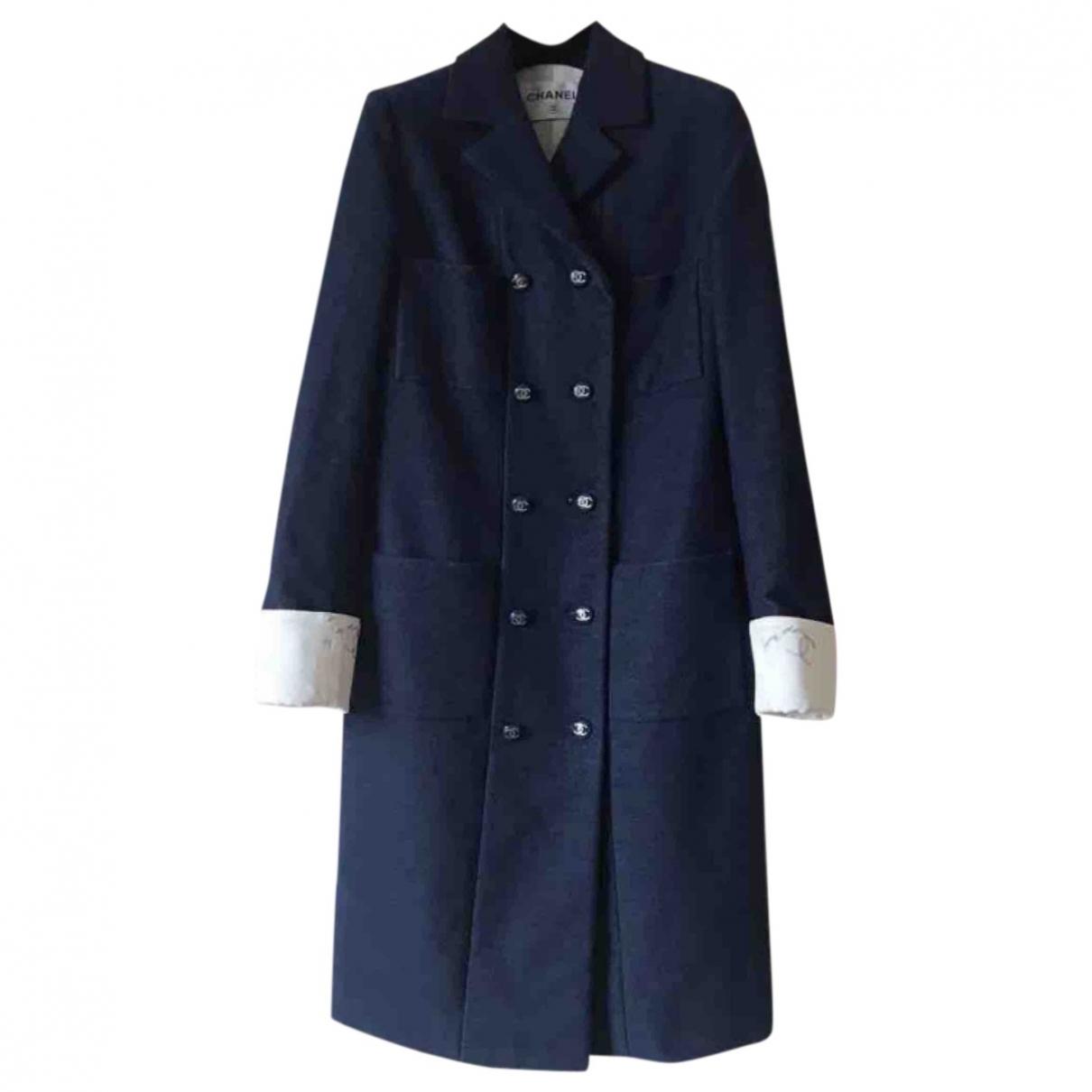 Chanel \N Navy Cotton coat for Women 34 FR