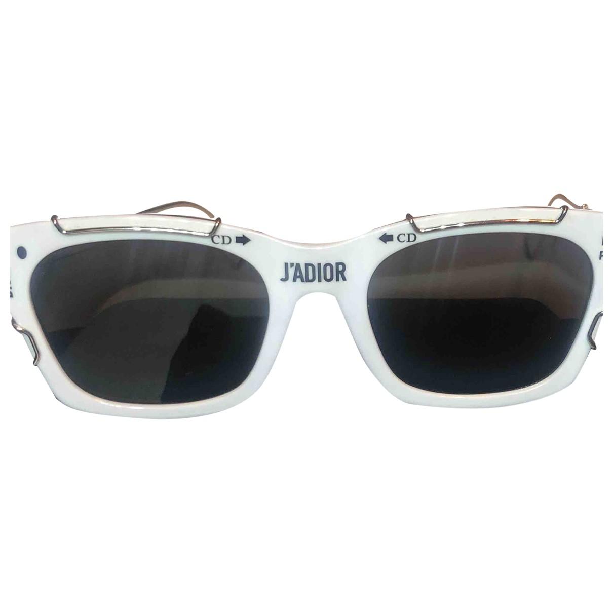 Dior Homme \N White Sunglasses for Men \N