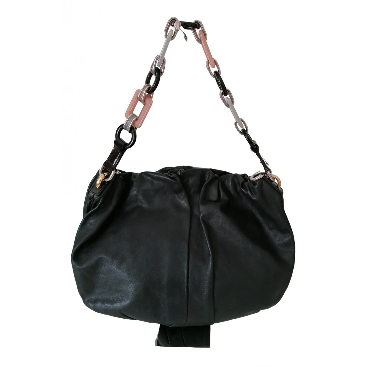 Dolce & Gabbana - Sac de voyage   pour femme en cuir - noir