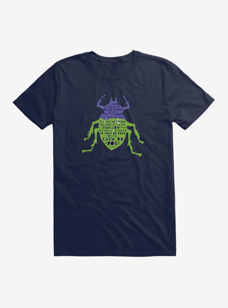 Beetlejuice Beetle Grey T-Shirt