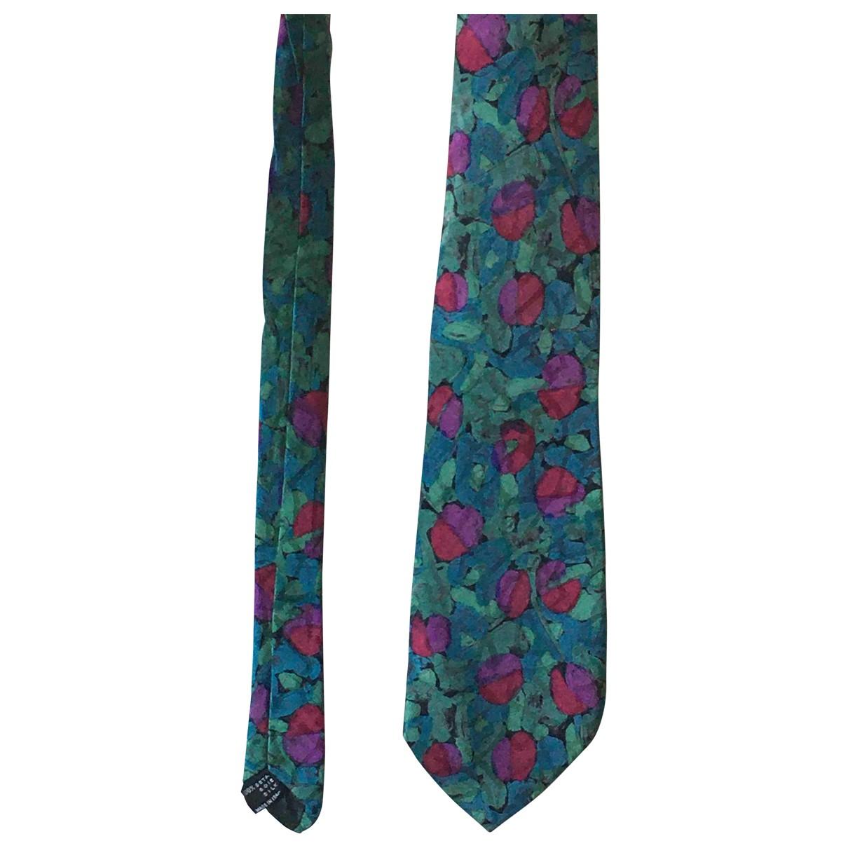 Missoni - Cravates   pour homme en soie - vert