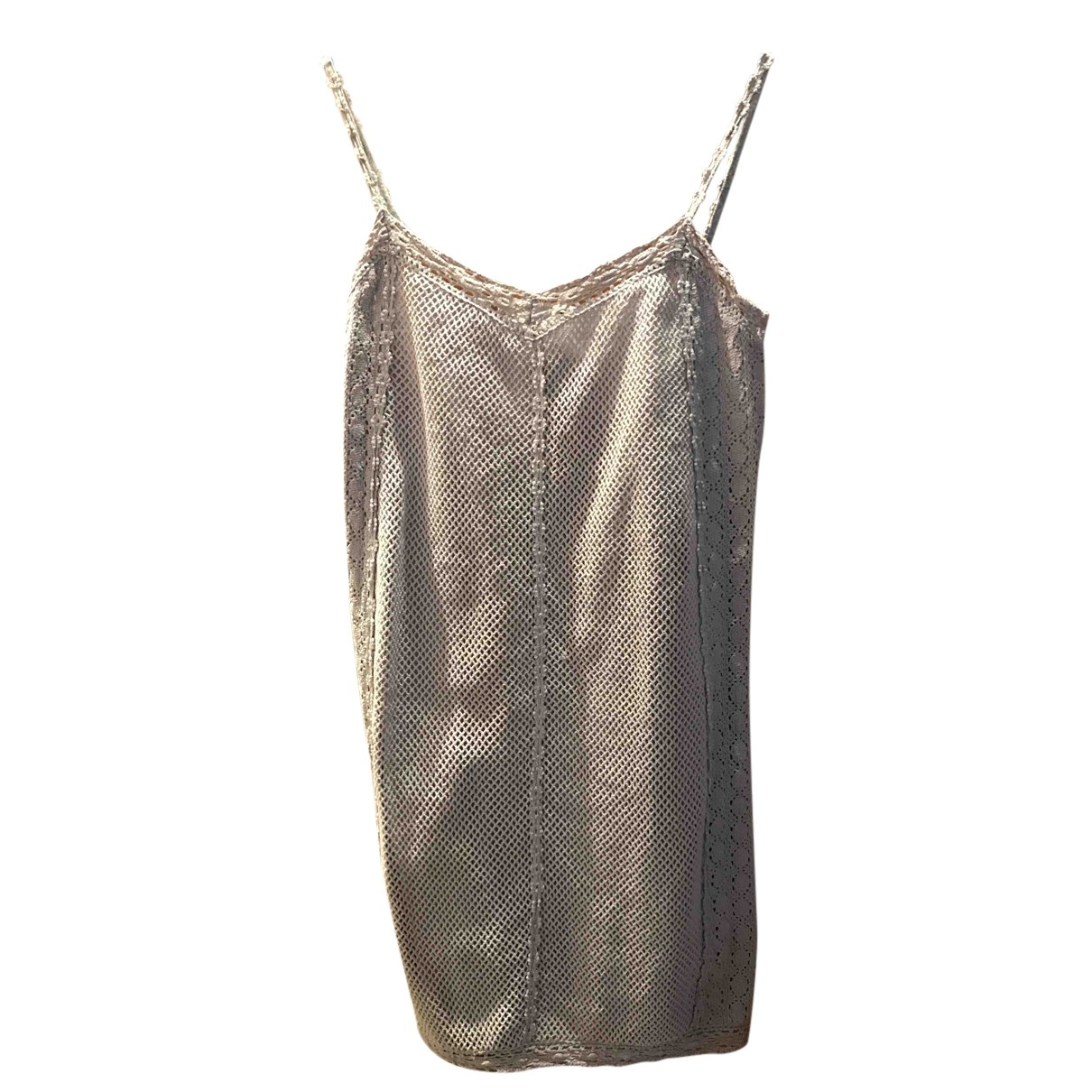 Uterque N Grey Cotton dress for Women S International