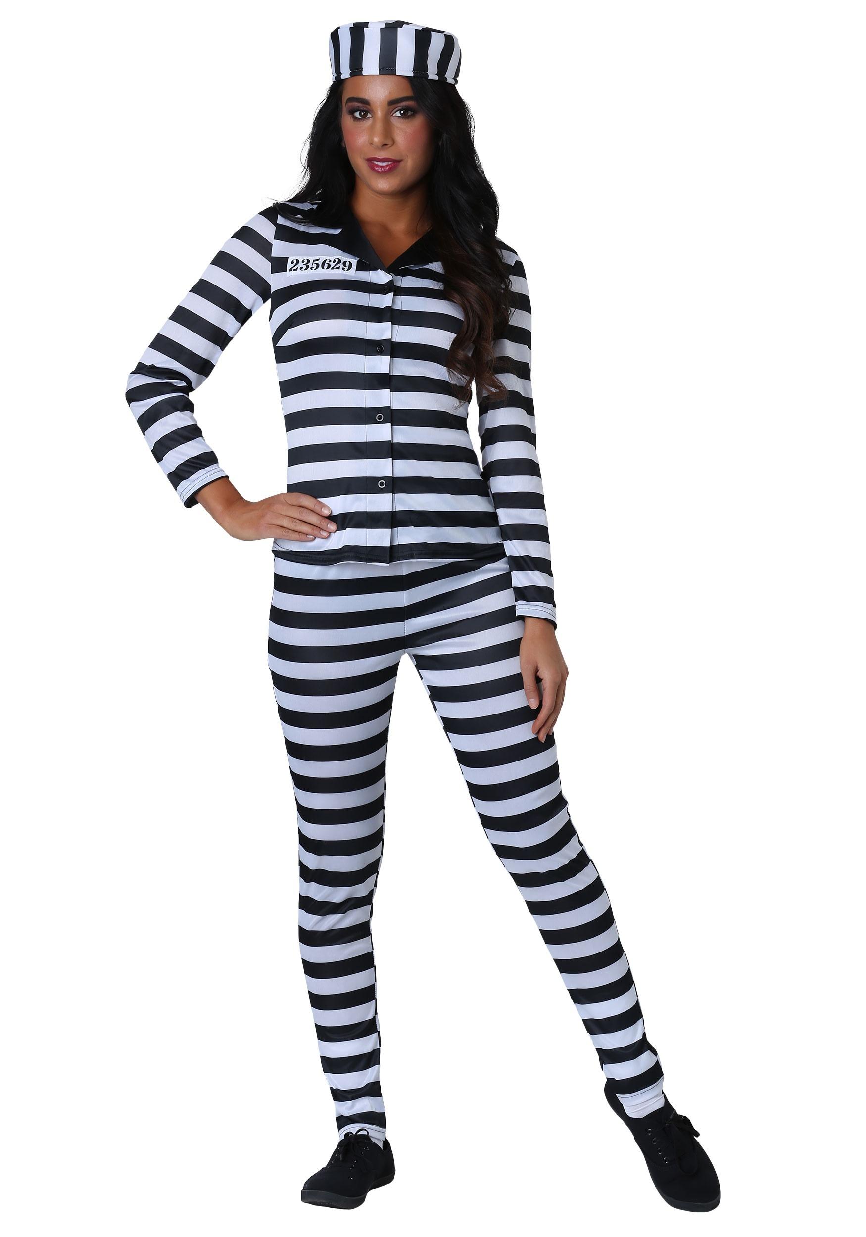 Plus Size Incarcerated Cutie Women's Costume